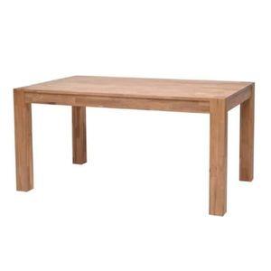 TABLE A MANGER SEULE MILES Table en chêne massif 6 personnes 150x90 cm