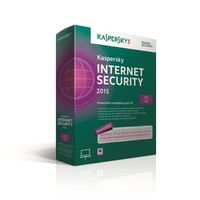 Kaspersky Internet Security 2015 (3 postes / 1 an)