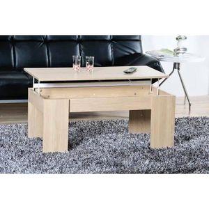 Table basse plateau relvable achat vente table basse - Table basse plateau relevable pas cher ...