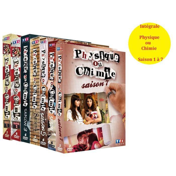 DVD SÉRIE DVD Physique ou chimie saison 1 à 7