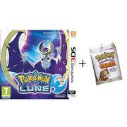 JEU 3DS Pokémon Lune Jeu 3DS + Stickers Pokémon Offerts