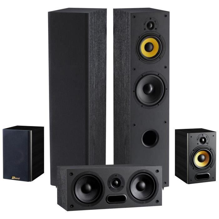 pack davis acoustics paire d 39 enceintes colonnes enceinte. Black Bedroom Furniture Sets. Home Design Ideas