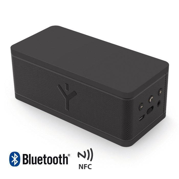 ryght party rock enceinte bluetooth portable nfc noir enceintes bluetooth prix pas cher. Black Bedroom Furniture Sets. Home Design Ideas