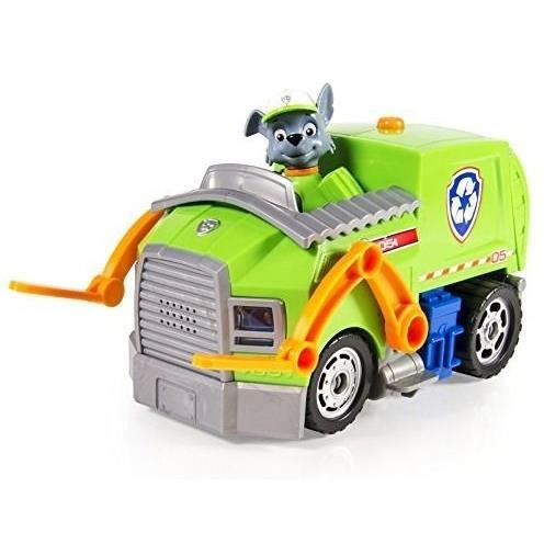 pat patrouille vehicule deluxe rocky paw patrol achat vente figurine personnage cdiscount. Black Bedroom Furniture Sets. Home Design Ideas