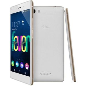 Wiko Fever Blanc Or
