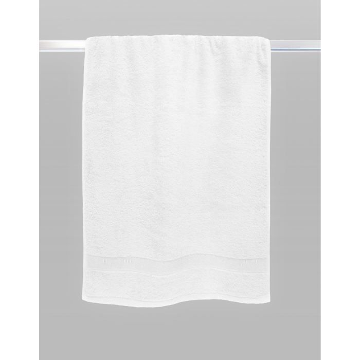 casatxu drap de douche 70x140cm blanc optique achat vente serviettes de bain cdiscount. Black Bedroom Furniture Sets. Home Design Ideas