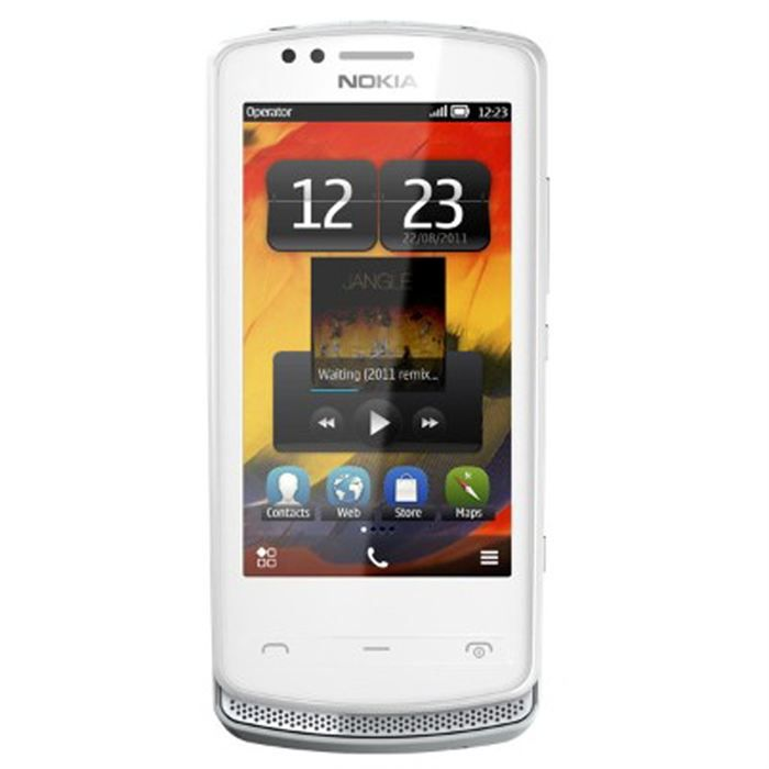 nokia 700 blanc silver achat smartphone pas cher avis. Black Bedroom Furniture Sets. Home Design Ideas