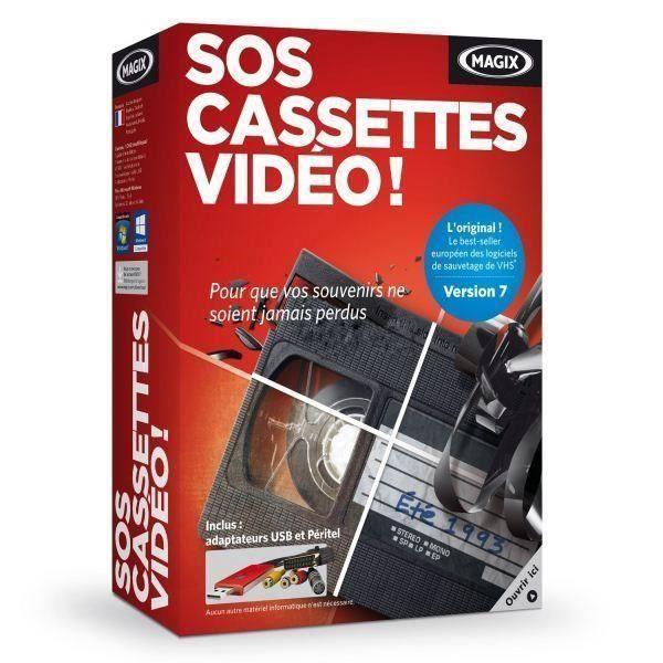 CRÉATION NUMÉRIQUE MAGIX SOS Cassettes Video 7