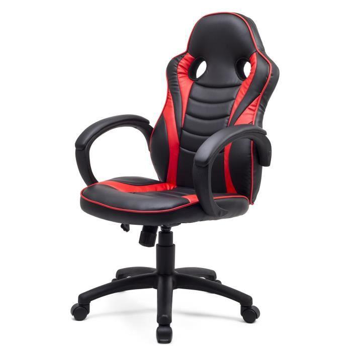 fauteuil de bureau achat vente fauteuil de bureau pas cher les soldes sur cdiscount. Black Bedroom Furniture Sets. Home Design Ideas