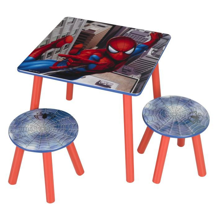 Object moved - Table et chaise spiderman ...