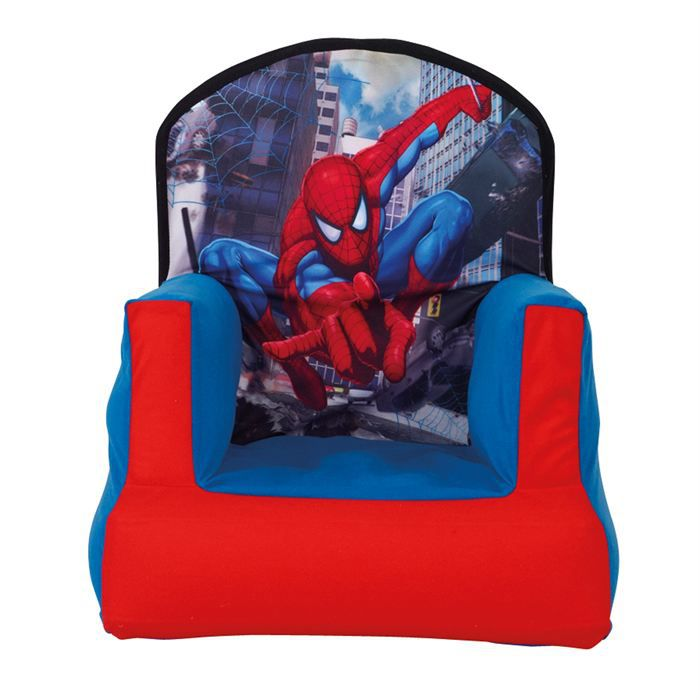 Chaise gonflable spiderman achat vente chaise for Chaise gonflable