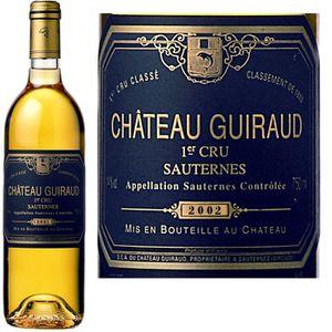 VIN BLANC Ch.Guiraud 1er GCC Sauternes 2004