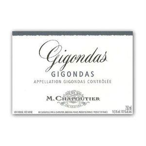 M. Chapoutier Gigondas 2014 vin rouge