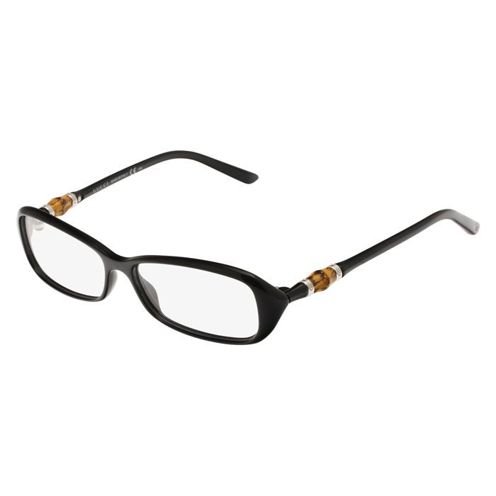 gucci monture de lunettes de vue femme noir achat. Black Bedroom Furniture Sets. Home Design Ideas