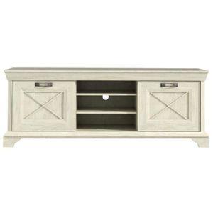 meuble tv bois vieilli achat vente meuble tv bois vieilli pas cher cdiscount. Black Bedroom Furniture Sets. Home Design Ideas