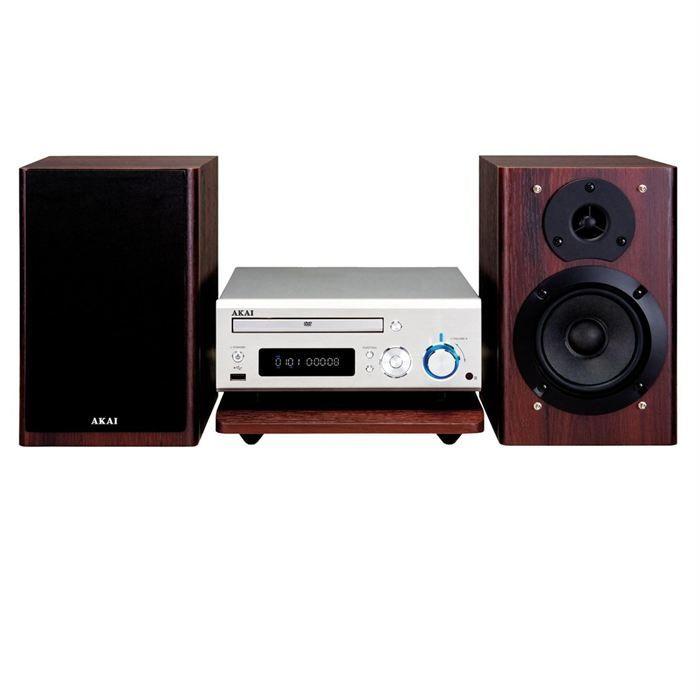 akai amd 50 micro chaine cd dvd usb chaine hi fi prix pas cher cdiscount. Black Bedroom Furniture Sets. Home Design Ideas