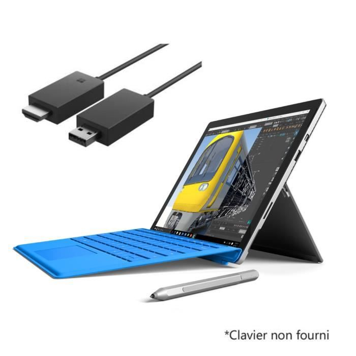 surface pro 4 core m 4gb 128gb wireless display adapter v2 prix pas cher cdiscount. Black Bedroom Furniture Sets. Home Design Ideas