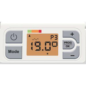 Reglage thermostat radiateur electrique
