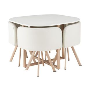 Ensemble table et chaises de cuisine achat vente for Table salle a manger qui prend pas de place
