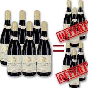 VIN ROUGE Pack Cépages Bouchard 6 achetés = 3+3 OFFERTS