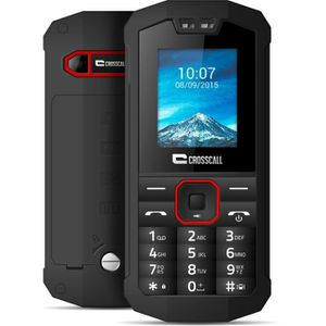 Téléphone portable Crosscall Spider- X1 Noir Anti-Choc