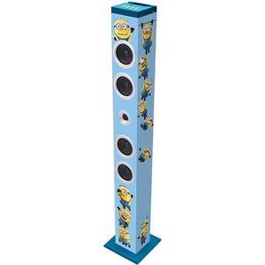 RADIO CD ENFANT LES MINIONS Tour de son Bluetooth Lexibook 14 W
