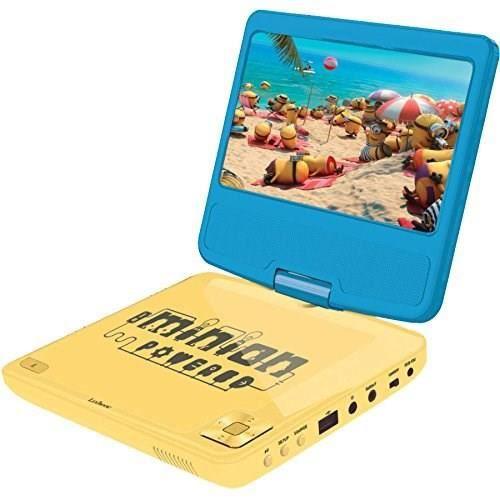 les minions lecteur dvd portable lexibook achat vente lecteur dvd enfant les soldes sur. Black Bedroom Furniture Sets. Home Design Ideas