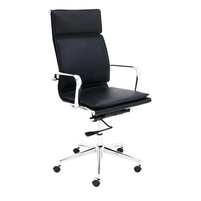 Chief fauteuil de bureau noir achat vente chaise de - Achat fauteuil de bureau ...