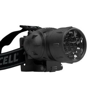 LAMPE FRONTALE DURACELL Lampe frontale LED 25lm portée 27m noir