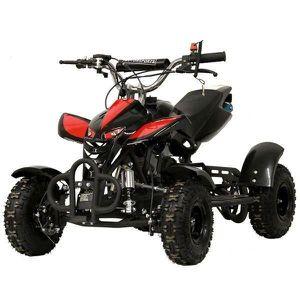 Pocket quad 49,9cc KXD M4 noir/rouge