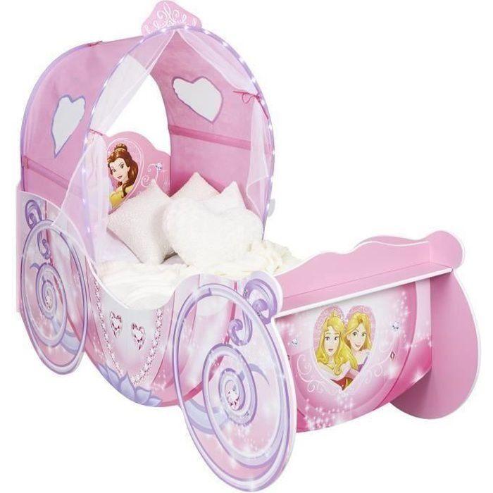 Disney princesses lit carrosse enfant hello home achat vente structure de - Lit en forme de carrosse ...