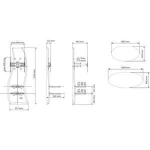 meubles tv high tech - achat / vente pas cher - cdiscount - Meubles Tv Hifi Design