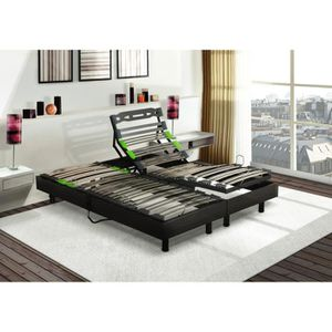 SOMMIER ALIZEE Sommiers relax 2x80x200
