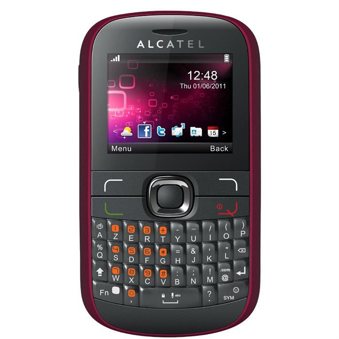 alcatel one touch 585d rose achat vente telephone. Black Bedroom Furniture Sets. Home Design Ideas