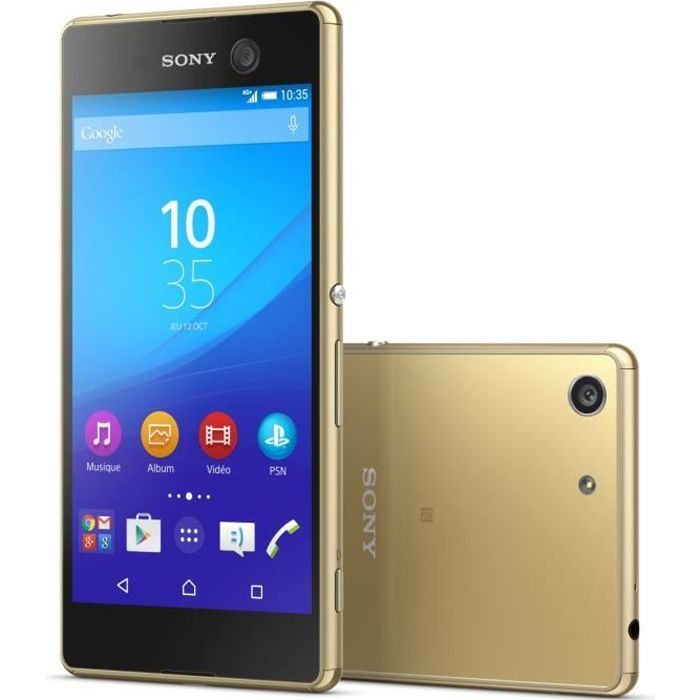 sony xperia m5 double sim or achat smartphone pas cher. Black Bedroom Furniture Sets. Home Design Ideas