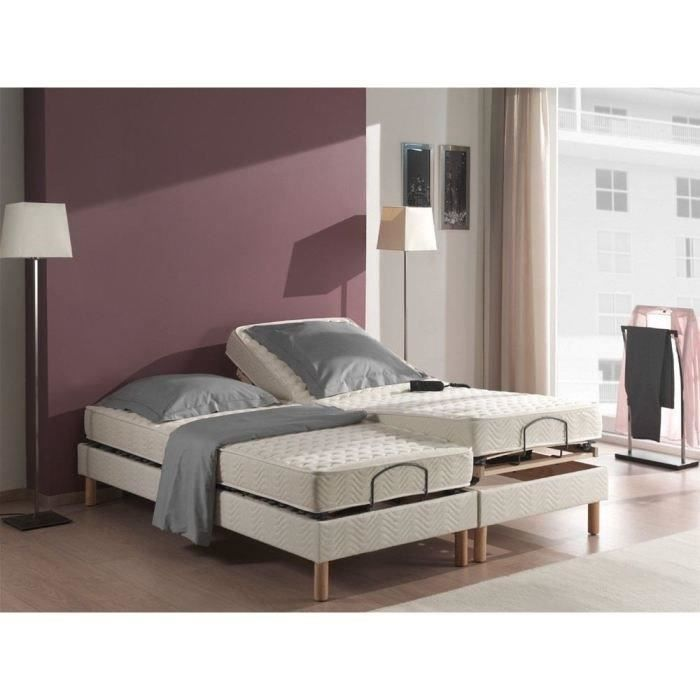 vendee 2 matelas 2x80x200 cm latex equilibr 75kg m3. Black Bedroom Furniture Sets. Home Design Ideas