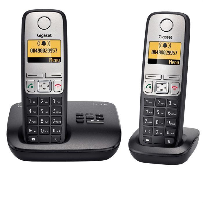 Téléphone fixe GIGASET A400A DUO