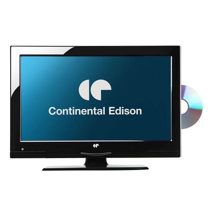 Continental edison tv led 19hdv3 t l viseur combin prix pas cher cdiscount - Cdiscount television led ...