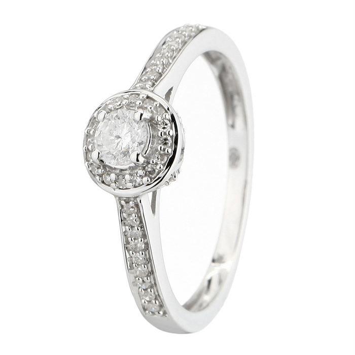 le diamantaire alliance or blanc 750 et diamants achat vente alliance solitaire le. Black Bedroom Furniture Sets. Home Design Ideas