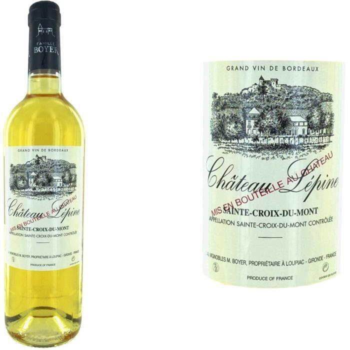 vin bordeaux sainte croix du mont