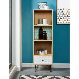 etagere scandinave achat vente etagere scandinave pas cher les soldes sur cdiscount. Black Bedroom Furniture Sets. Home Design Ideas