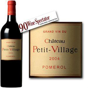 VIN ROUGE Château Petit Village Pomerol 2004