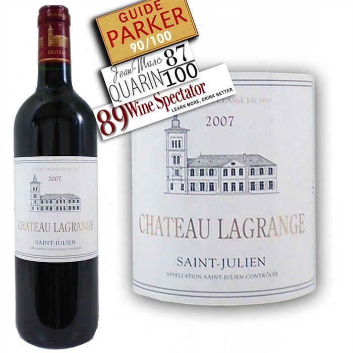VIN ROUGE Château Lagrange Saint Julien 2007 - Vin rouge