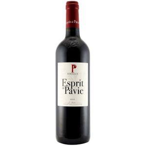 VIN ROUGE Esprit de Pavie Bordeaux Rouge 2010