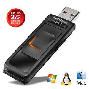 Cl� USB SANDISK ULTRA BACKUP SDCZ40 NOIR 32GO
