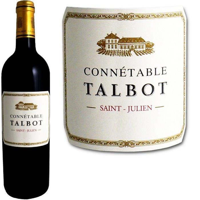 VIN ROUGE Connetable de Talbot Saint Julien 2011
