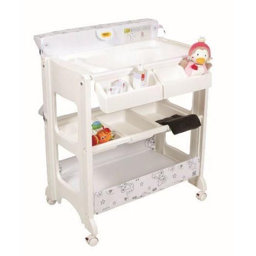 Babysun table a langer supr me blanc achat vente table - Table a langer en solde ...