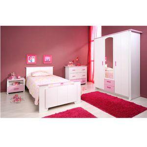 Chambre compl te enfant achat vente chambre compl te for Chambre adulte complete venise avec tiroir lit