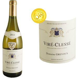 VIN BLANC Domaine Grevoux Viré Clessé 2013 - Vin blanc