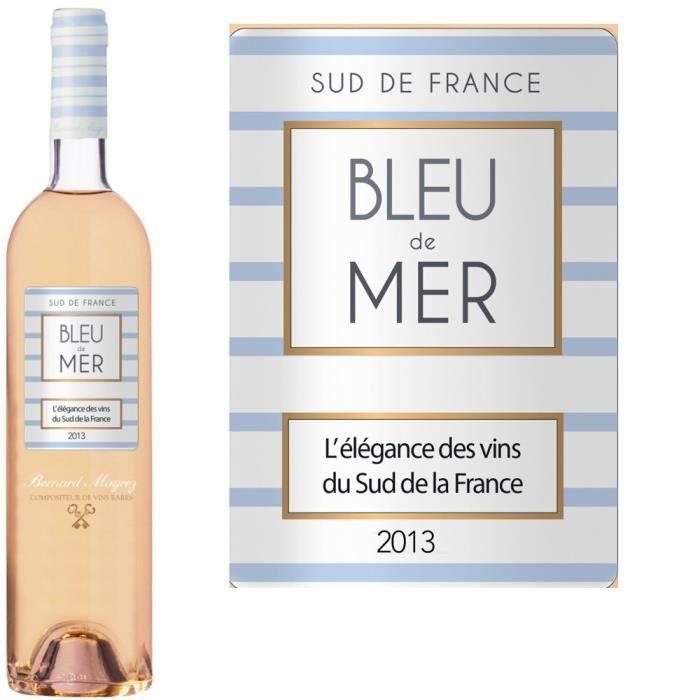 VIN ROSE Bleu de Mer rosé 2013